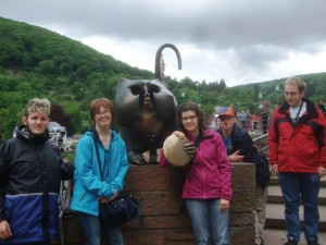 Unterwegs in Heidelberg