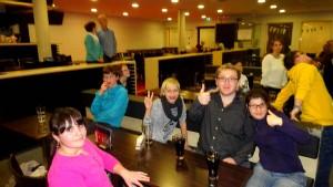 Unsere Jugend im Kegelcenter.