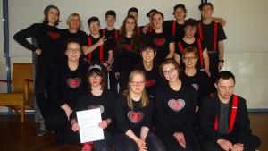 Trommelgruppe beim Seniorenfasching 2018 - komprimiert